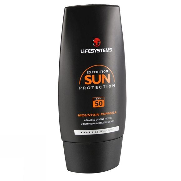 Lifesystems Mountain Sun Cream SPF50 50ml .
