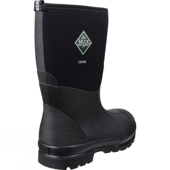 Muck Boot Chore Mid Boot Black