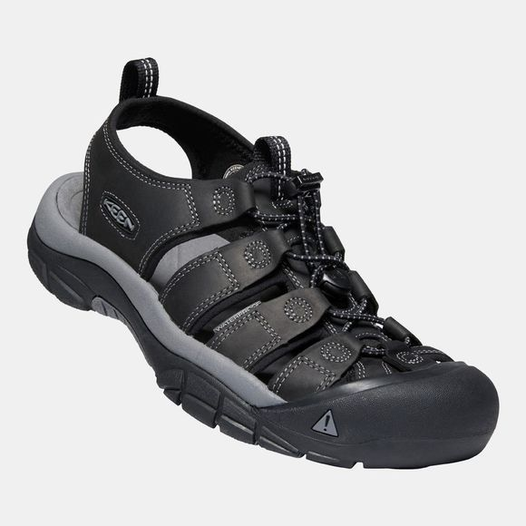Keen Mens Newport Sandal Black/Steel Grey