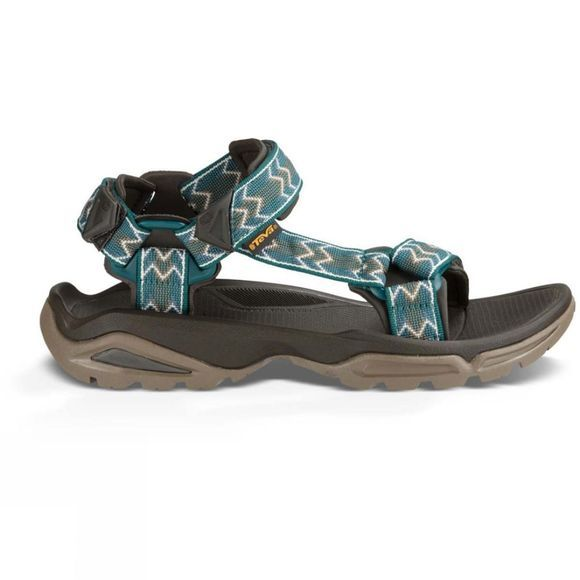 Teva Mens Terra Fi 4 Sandal Cross Terra Deep Teal