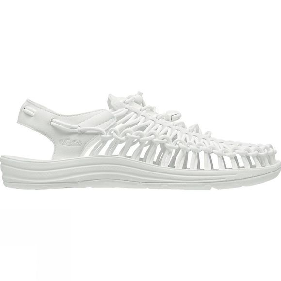 Keen Mens Uneek Round Cord Shoe Star White