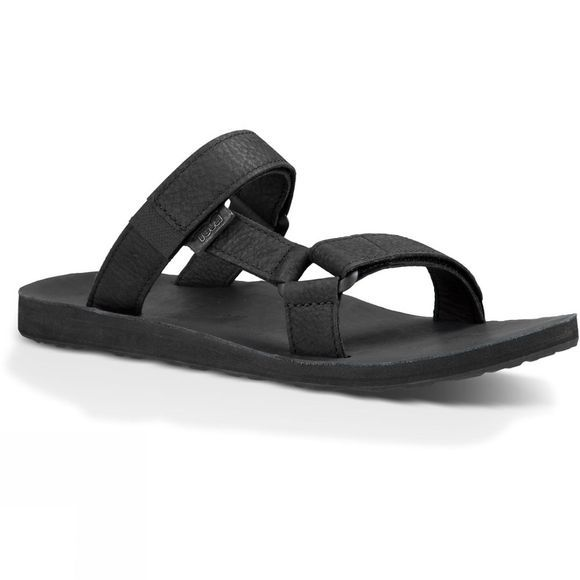 Mens Universal Slide Leather Sandal