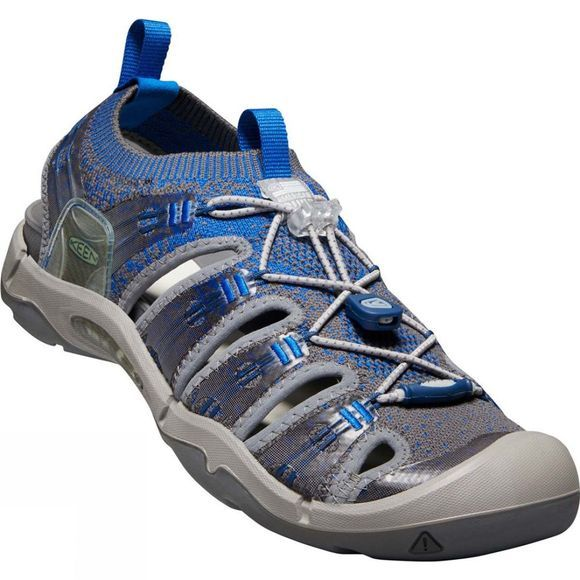 Keen Mens Evofit One Sandal Skydiver/Steel/Grey