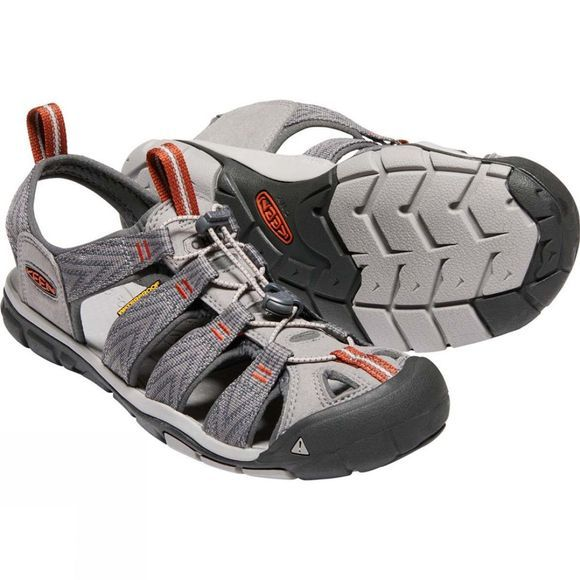 Keen Mens Clearwater CNX Sandal Grey Flannel/Potters Clay