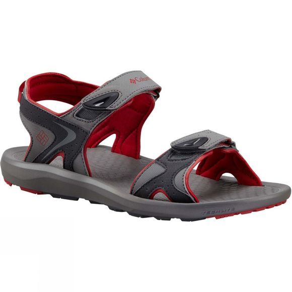 Columbia Mens Techsun Sandal Titanium MHW / Rocket