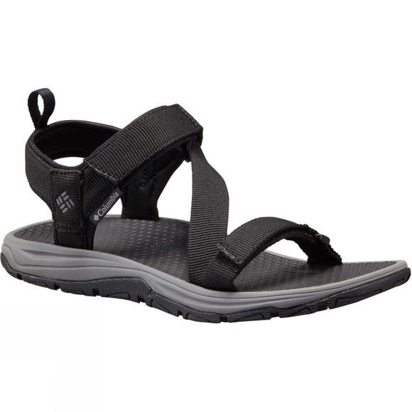 Columbia Mens Wave Train Sandal Black/City Grey