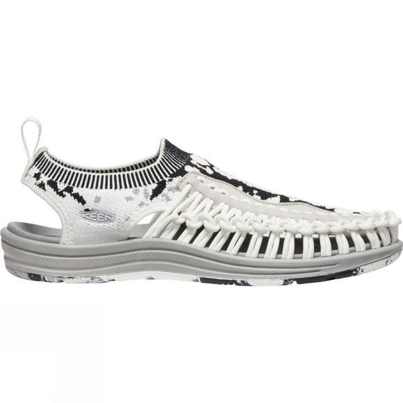 Keen Men's Uneek Evo Sandal  Star White/Raven