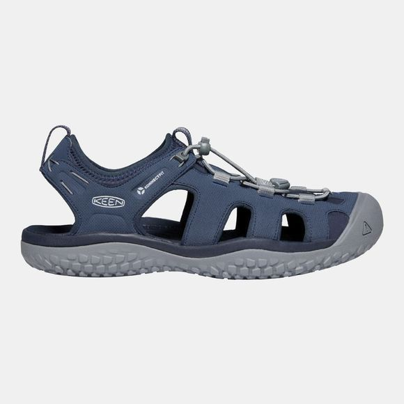 Keen Men's Solr Sandal Navy/Steel Grey