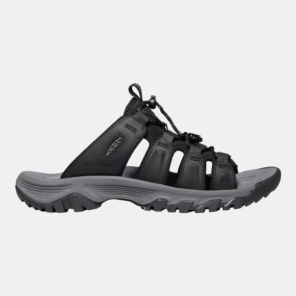 Keen Men's Targhee III Slide Sandal Black/Grey
