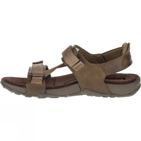 Merrell Mens Terrant Strap Sandal Dark Earth