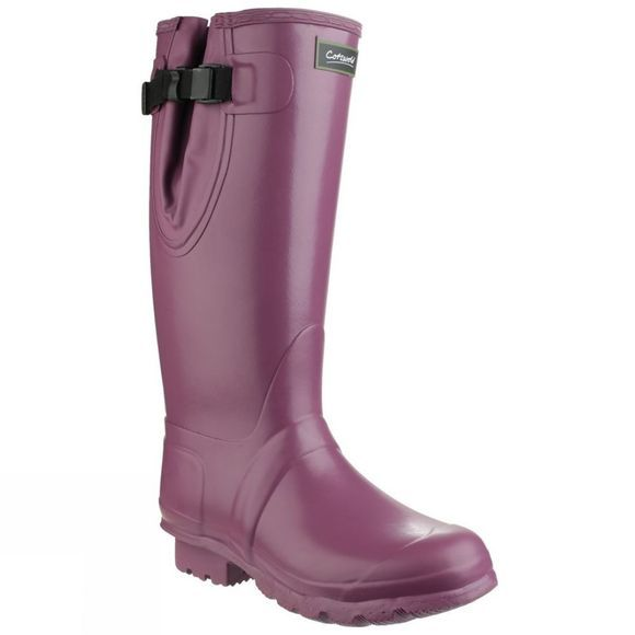 Cotswold Mens Kew Neoprene Welly Purple