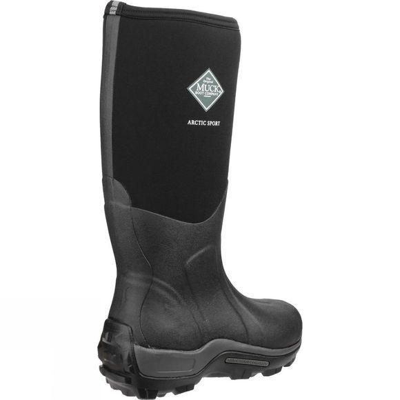 Muck Boot Mens Arctic Sport Boot Black/Black