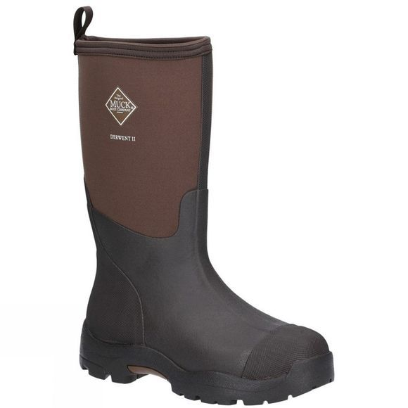 Muck Boot Mens Derwent II Boot Black/Bark
