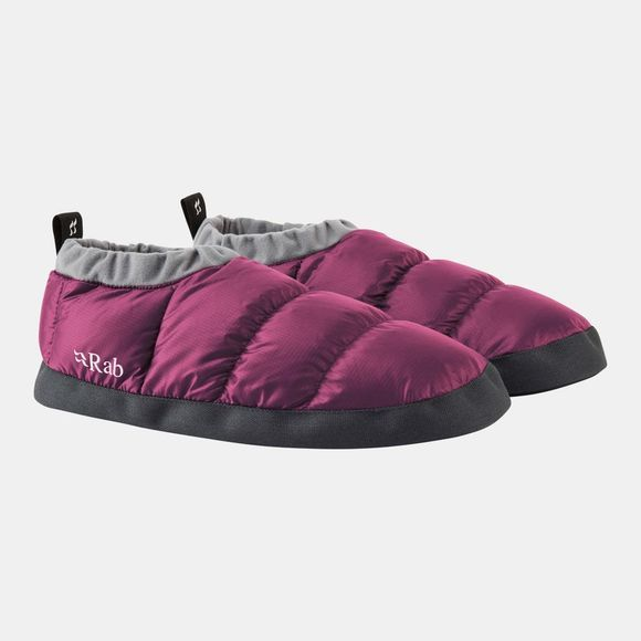 Rab Down Slippers Berry