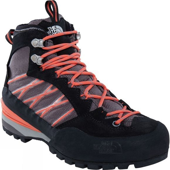 The North Face Womens Verto S3K GTX Boot Q-Silver Grey / Radiant Orange