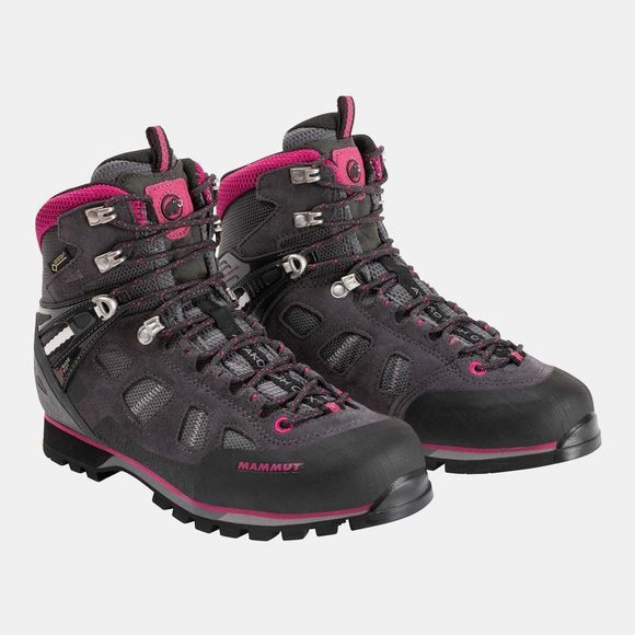 Mammut Womens Ayako High GTX Boot Dark Titanium/Dark Pink