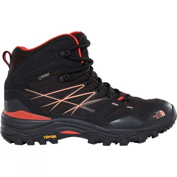 The North Face Women's Hedgehog Fastpack Mid GTX® Boots TNF Black/Fire Brick Red