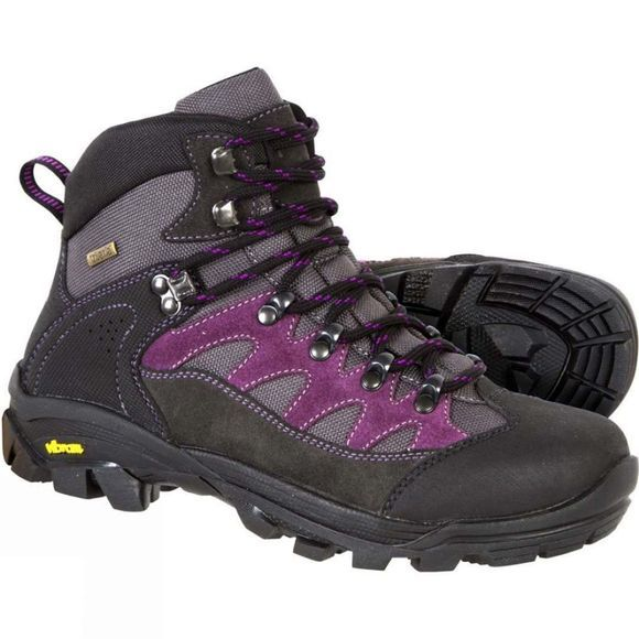 Anatom Womens F2 Boot Anthracite/Purple
