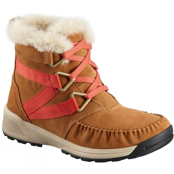 Columbia Mens Maragal Mid Wp Boot Elk/ Red Canyon