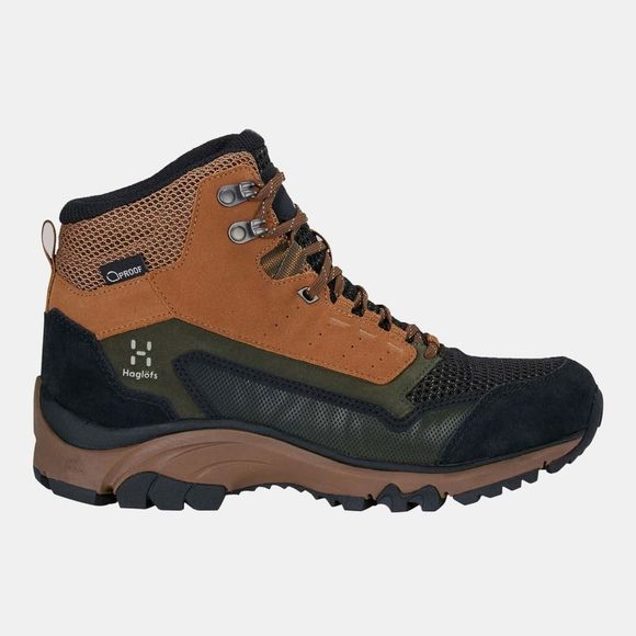 Haglofs Womens Skuta Mid Proof Eco Boot Oak/Deep Woods