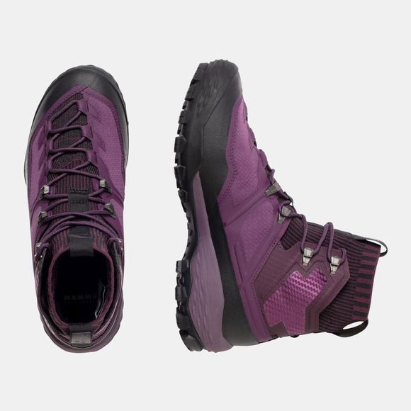 Mammut Womens Ducan Knit High GTX Shoe Galaxy/Phantom