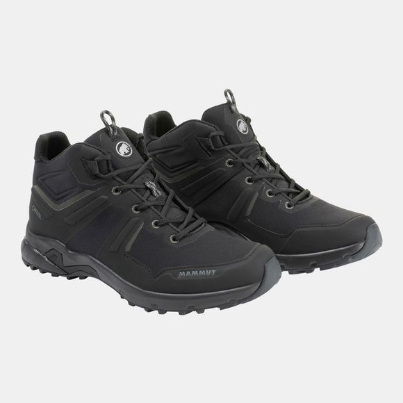 Mammut Womens Ultimate Pro Mid GTX Shoe Black/Black