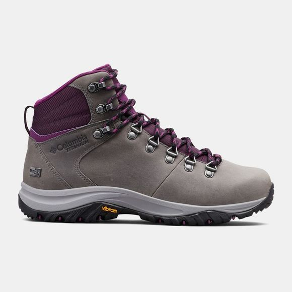 Columbia 100MW TITANIUM OutDry Hiking Boot Ti Grey Steel/Black Cherry