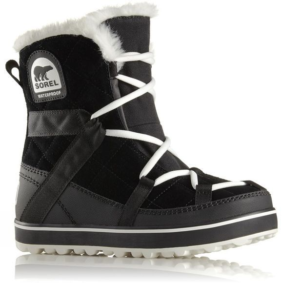 Sorel Womens Glacy Explorer Shortie Black