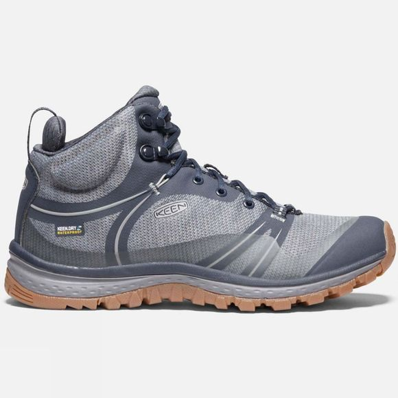 Keen Womens Terradora Waterproof Boot Blue Nights/Blue Mirage
