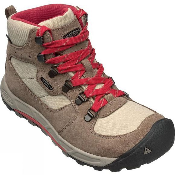 Keen Womens Westward Mid WP Boot Sand / Coral
