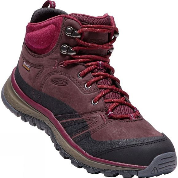Womens Terradora Leather Mid Waterproof Boot