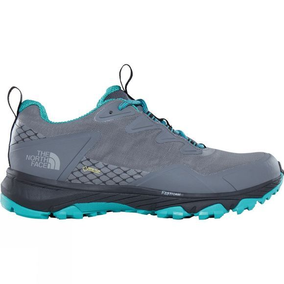 The North Face Womens Ultra Fastpack III GTX Shoe Zinc Grey/Porcelain Green