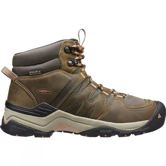Keen Womens Gypsum II Mid Water Proof Boot Cornstock/Gold Coral