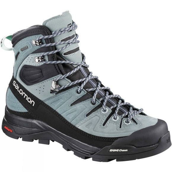 Salomon Womens X Alp High Ltr Gtx Boot Lead/Stormy Weather/Beach Glass