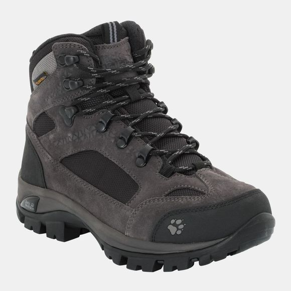Jack Wolfskin Womens All Terrain 8 Texapore Mid Boot Shadow Black
