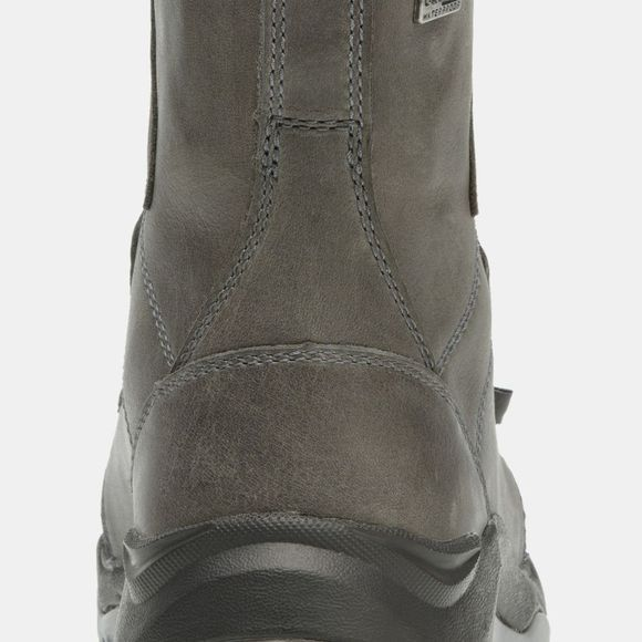 Columbia Womens Camden Outdry Leather Chukka Boot Graphite/ Monument