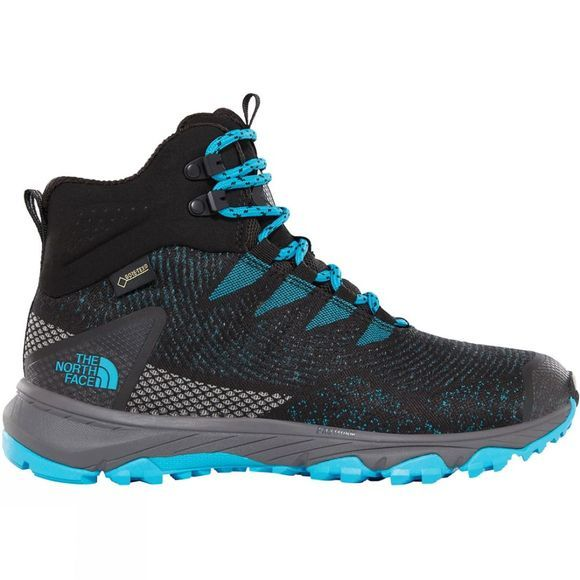 The North Face Womens Ultra Fastpack III Mid Gtx (Woven) Boots TNF Black/Meridian Blue