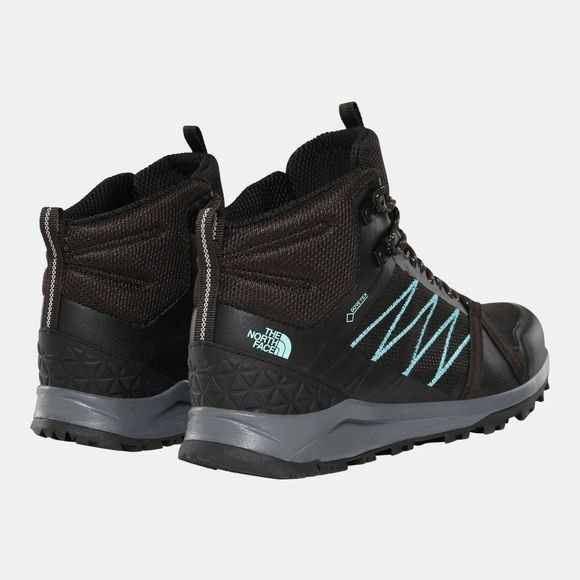 The North Face Womens Litewave Fastpack II Mid GTX Boot Tnf Black/Aqua Splash