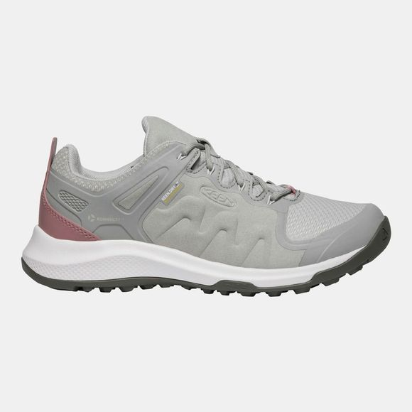 Keen Women's Explore WP Shoe Drizzle/Nostalgia Rose