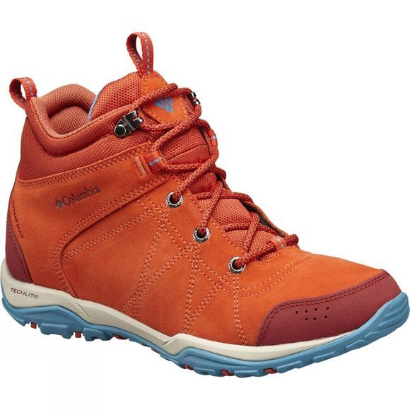 Womens Fire Venture Mid Waterproof Suede Boot