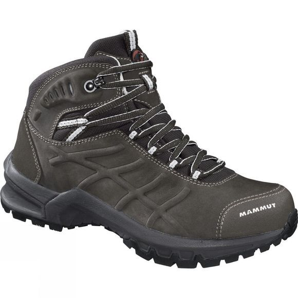 Mammut Womens Nova Mid II LTH Boot Bark / White