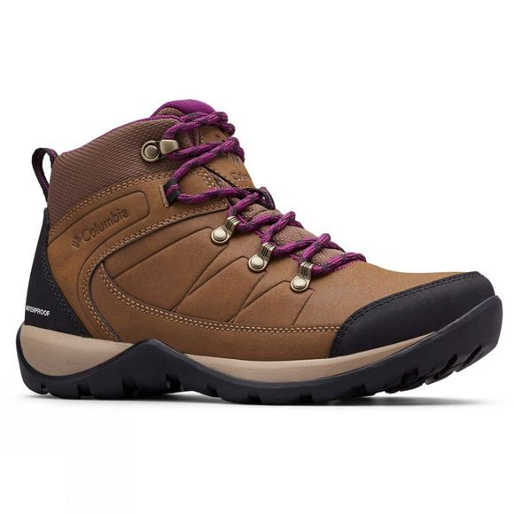 Columbia FIRE VENTURE L MID II Waterproof Hiking Boot Dark Truffle/ Wild Iris