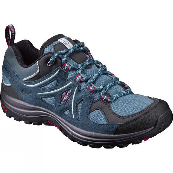 Salomon Womens Ellipse 2 Aero Shoe Artic/Reflecting Pond/Sangria
