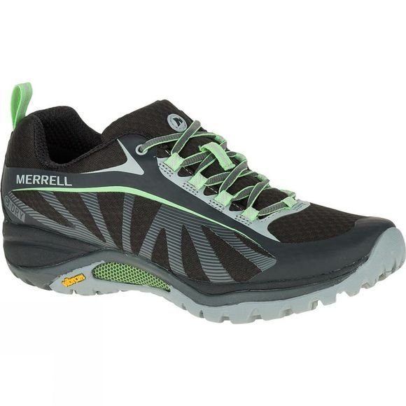 Merrell Womens Siren Edge Waterproof Shoe Black/Paradise