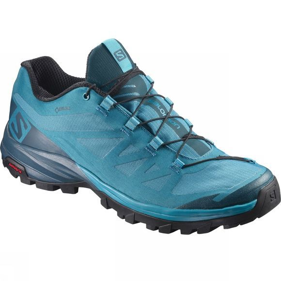 Salomon Womens Outpath GTX Shoe TahitianTide/Reflecting Pond/Black