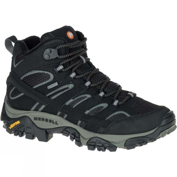 Merrell Womens Moab 2 Mid GTX Boot Black
