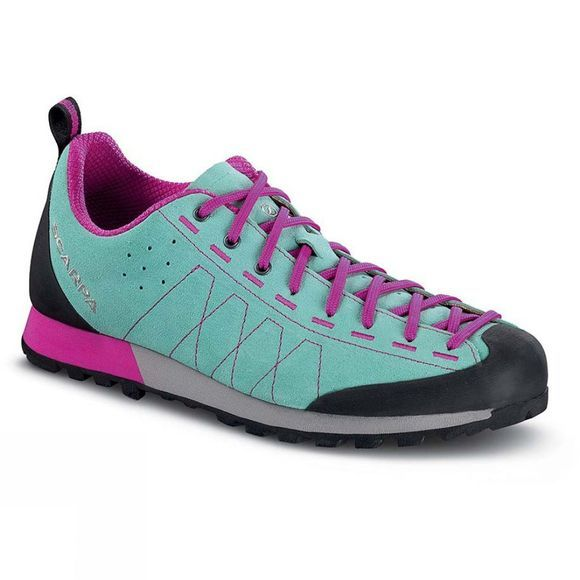 Scarpa Womens Highball Shoe Reefwater-Fuchia