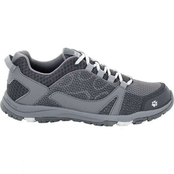 Jack Wolfskin Womens Activate Low Tarmac Grey