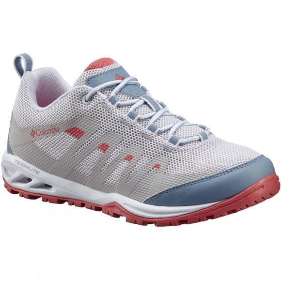 Columbia Womens Vapor Vent Shoe White/Wild Salmon