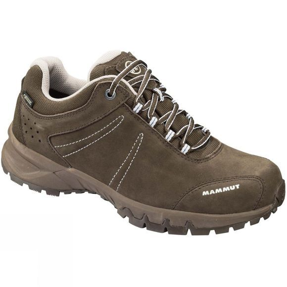 Mammut Womens Nova III Low GTX Bark/White